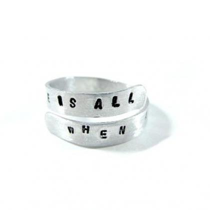 Hand Stamped Jewelry - Personalized..